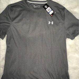 Under Armour Shirts - Under Armour Steel Shimmer short sleeve shirt XL